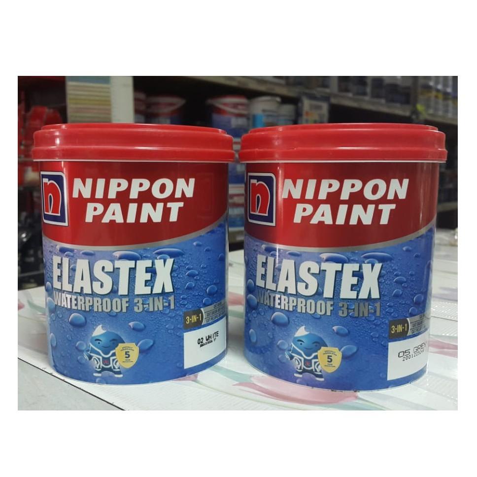 CAT  ELASTEX  WATERPROOF Pelapis Anti Bocor NIPPON PAINT