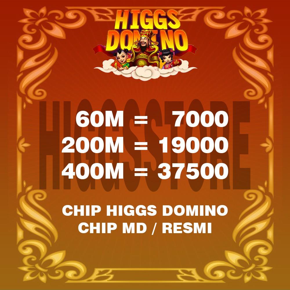KOIN CHIP DOMINO HIGGS TERMURAH ECER - CHIP DOMINO - HIGGS DOMINO - DOMINO HIGGS - CHIP HIGGS DOMINO
