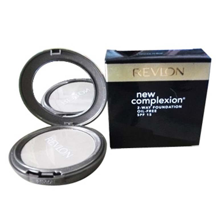 Revlon New Complexion 2 Way Foundation Oil Free SPF 15 12gr | Shopee Indonesia