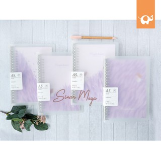 Purple Dream File Binder A5 / Loose Leaf Lucu Unik Murah