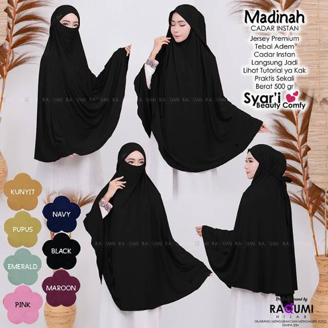 Madinah Cadar Instan By Raqumi Xmnv Hijab Shopee Indonesia