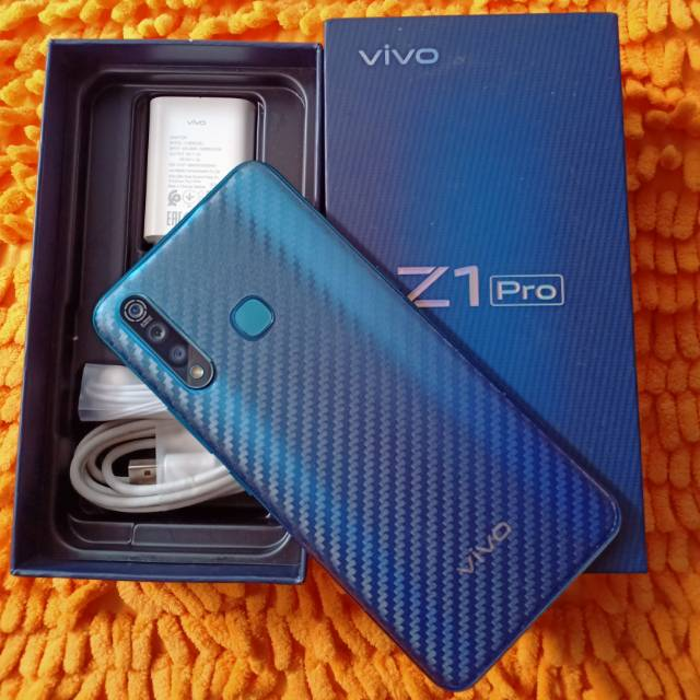 VIVO Z1 PRO - RAM 4/64GB & 6/128 GB (SECOND) - GARANSI RESMI BERJALAN