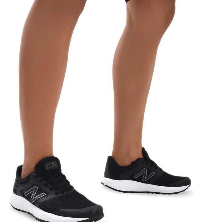 XQ_367 New Balance 420 V1 Men's Running Shoes - Black White TERBARU