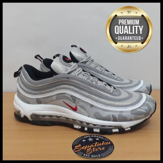 24e22f4cbd Jual Sepatu Nike Airmax Air max 97 OG X Undefeated Camo Silver Grey Bullet  QR0322