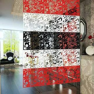 penyekat ruangan sekat ruang dekorasi tirai dinding
