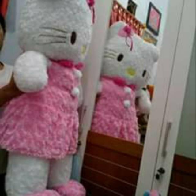 Boneka Hello kitty jumbo 1meter  1aa6d0a294