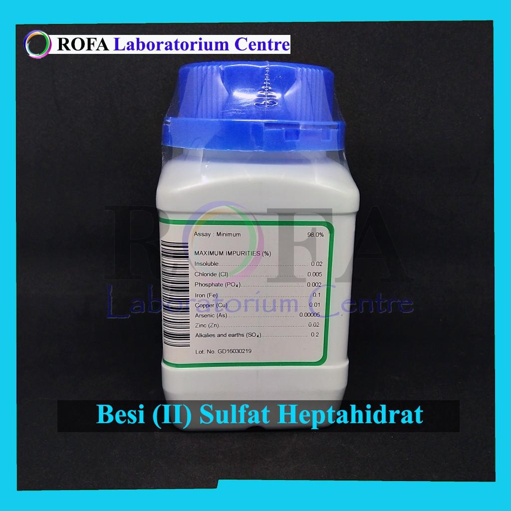 Besi Ii Sulfat Heptahidrat Iron Ii Sulfate Heptahydrate Feso4 7h2o 250 Gram Shopee Indonesia