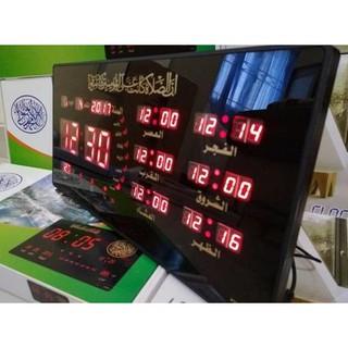 ... HARGA PROMO JAM DINDING DIGITAL LED ADZAN 5 WAKTU CLOCK 4622 Y-1MERAH  MURAH PROMO RAMADHAN. suka  0 487bd9d274