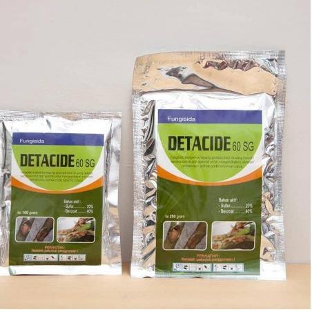 [KODE O81] Fungisida DETACIDE 60SG 250 gram