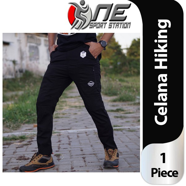 Celana Hiking Stretch Celana Panjang Outdoor Hiking Adventure Quickdry Celana Naik Gunung 07 Shopee Indonesia