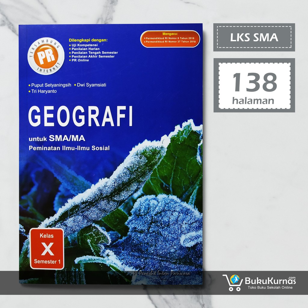 Buku Lks Geografi Kelas 10 Semester 1 Peminatan K13 Intan Pariwara Shopee Indonesia