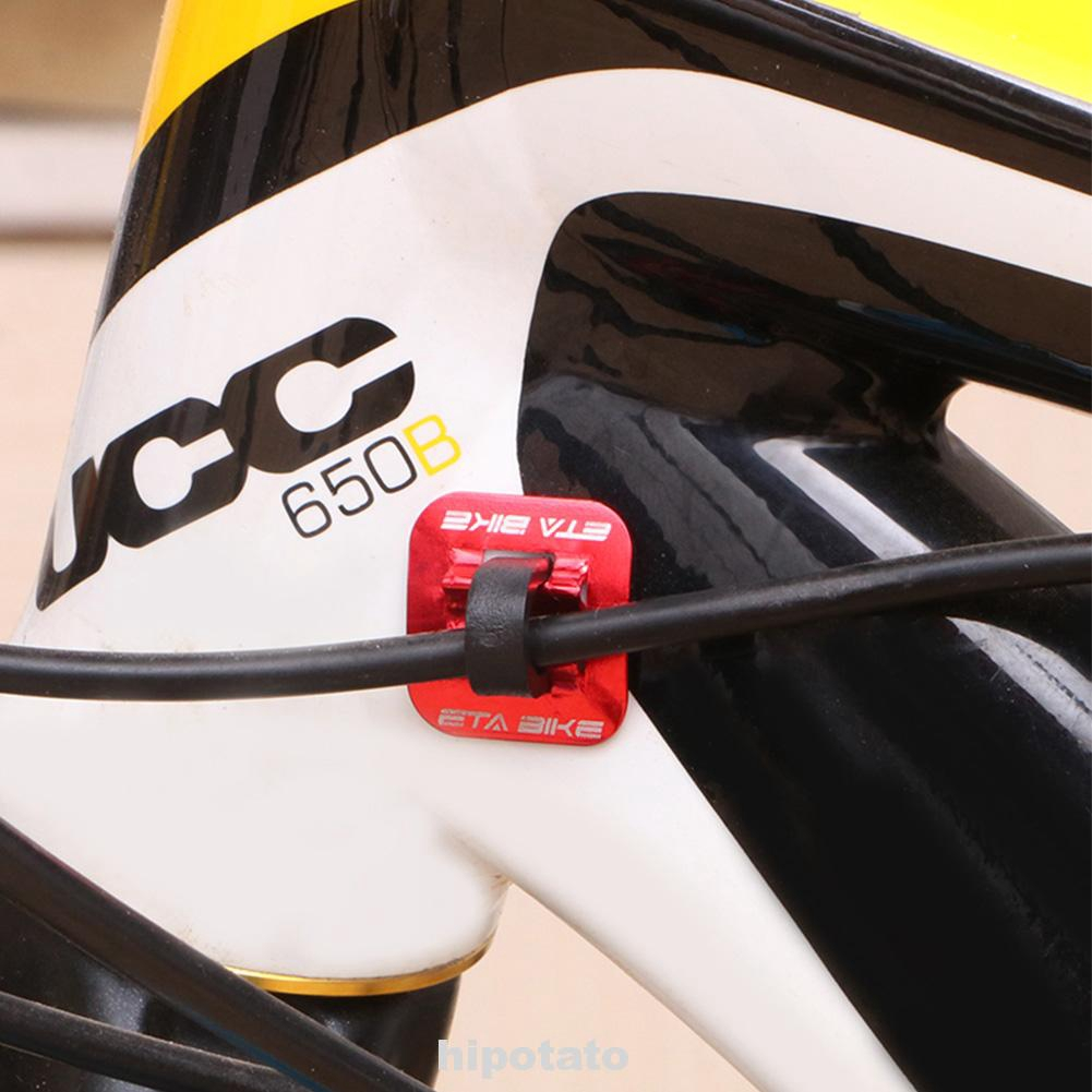 Bicycle Brake Cable Guide Oil Tube Fixed Clamp Clips Bike Frame Conversion Seat