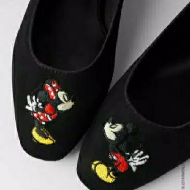 Mickey Mouse Zr Sepatu Zara Shopee Indonesia