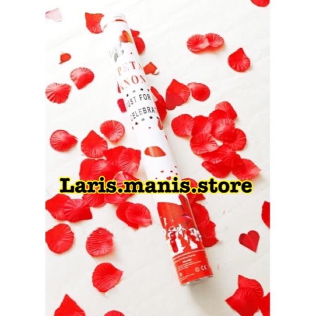 Confetti roses - party popper roses - confetti pesta - confetti ultah - confetti wedding - popper   Shopee Indonesia