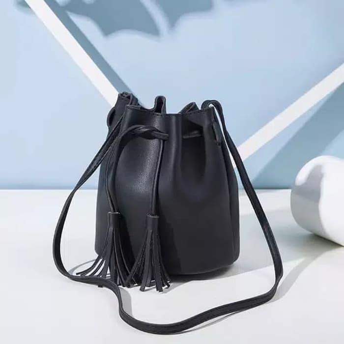 SALE ! tas wanita tas serut miniso tas selempang tas kulit ...