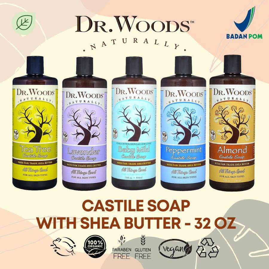 Dr Woods Castile Soap UNSCENTED BABY ...