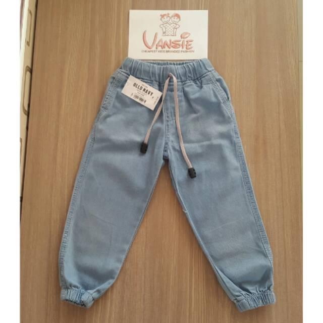 Celana Panjang Anak Jeans Joger Murah Keren Lucu
