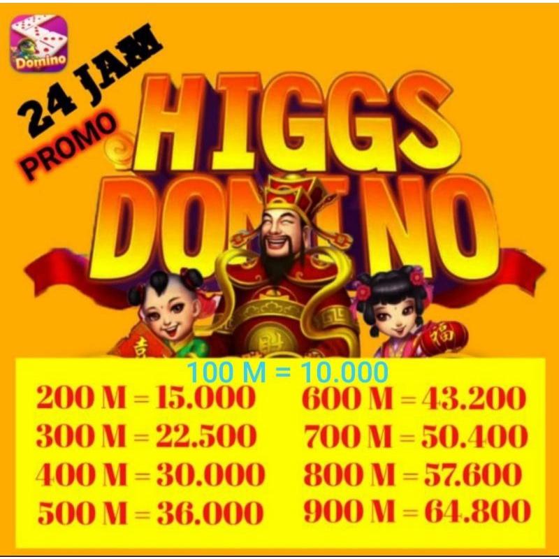 Chip Domino Higgs Eceran Termurah