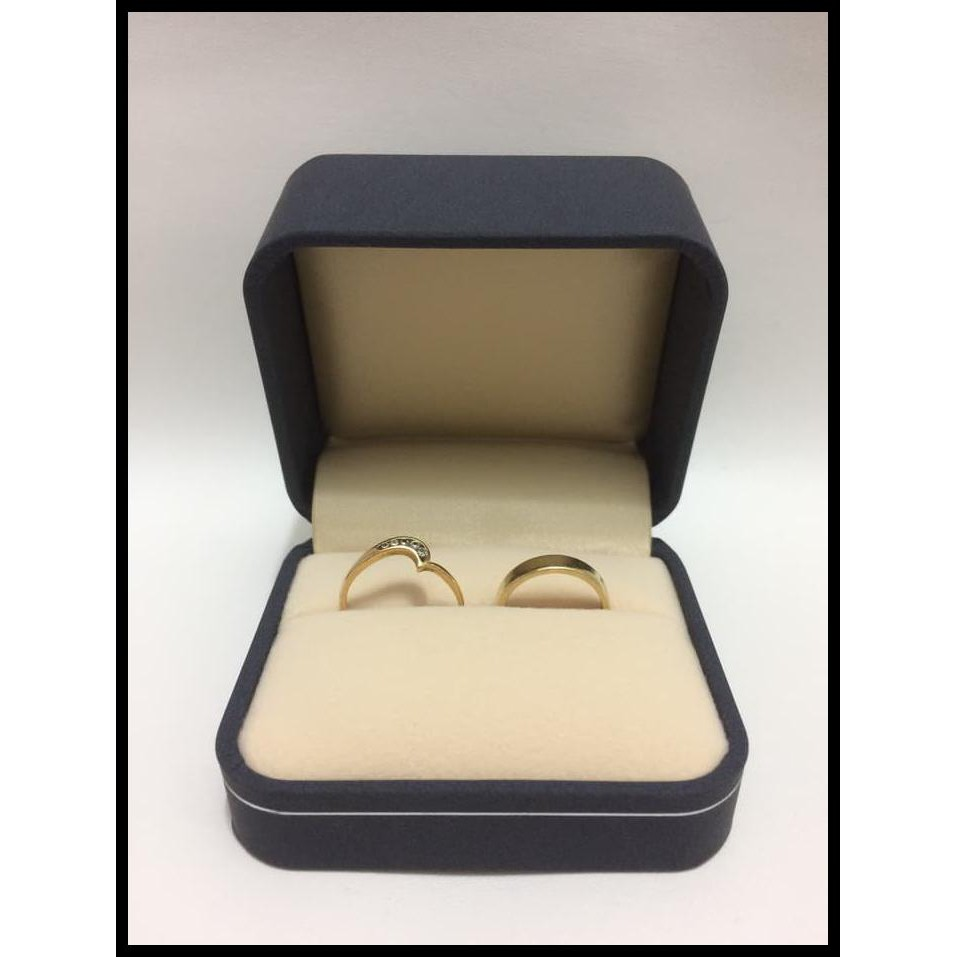 Ready Kotak Cincin Kawin Cincin Nikah Kotak Perhiasan Navy Nb02r Navy Shopee Indonesia