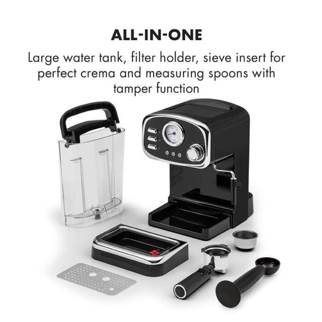 Coffee Maker Espresso Machine Mesin Kopi Mayaka Premium CM 5013 Black