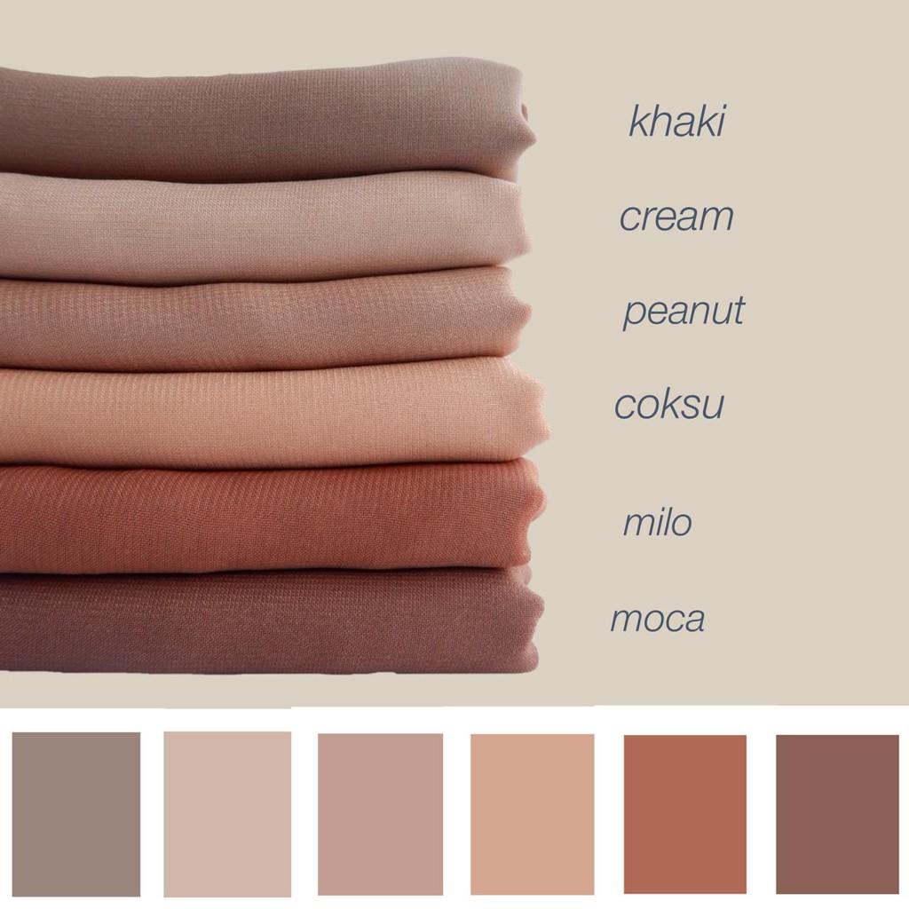 Gaya Terbaru 89+ Jilbab Warna Coklat Cream