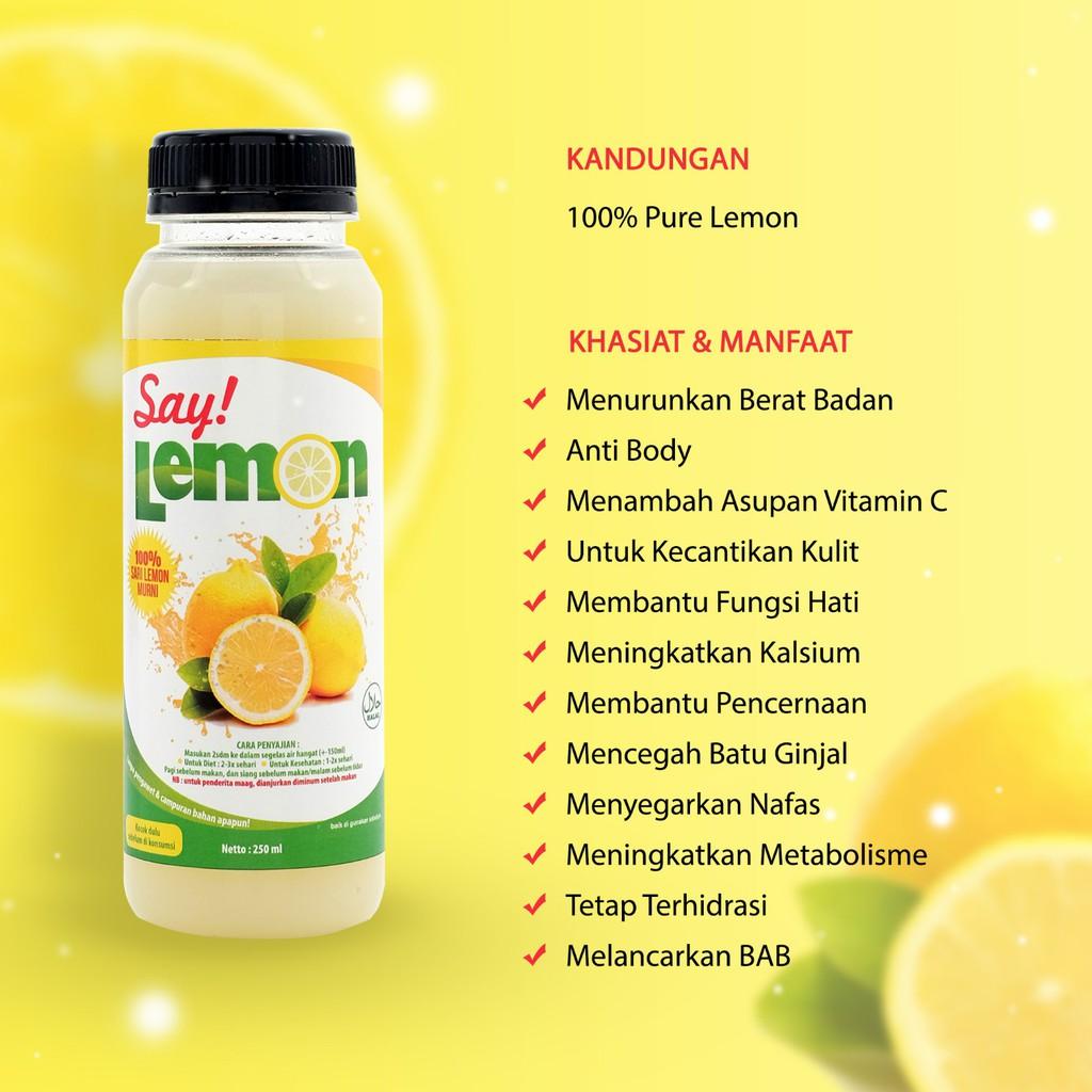 Paket Hemat 4 Botol Sari Lemon Asli 500ml Air Lemon Murni 100 Untuk Diet Detoks Dan Anti Virus Shopee Indonesia