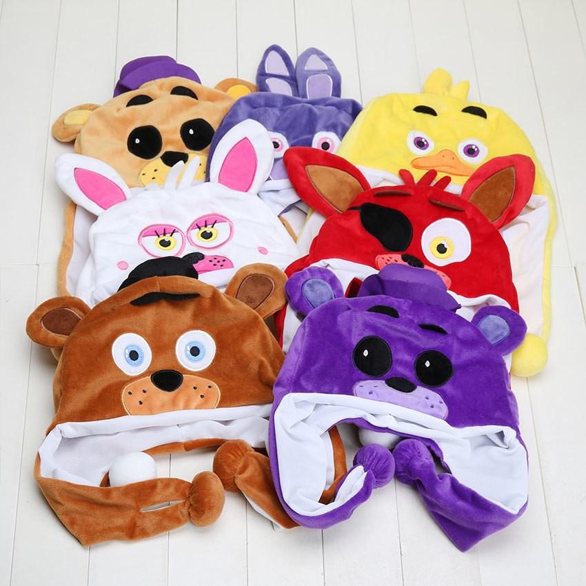 Mainan Boneka FNAF Lima Malam Di Freddy Freddy 5 Mimpi Buruk Mangle Fazbear  Foxy Bonnie Chica Anak  0180950547
