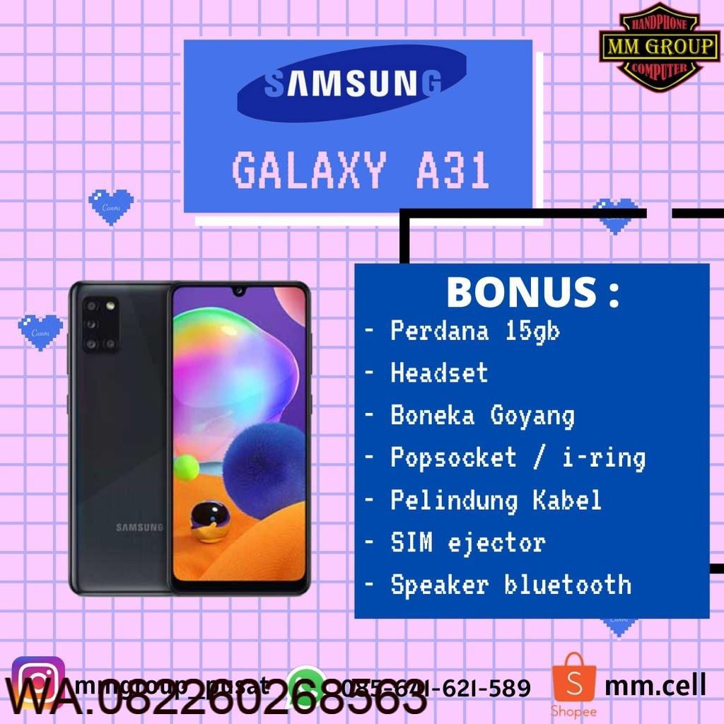 Cuci Gudang Hp  HP SAMSUNG GALAXY A31 RAM 6/128GB DAN 8/128GB  Hp Murah