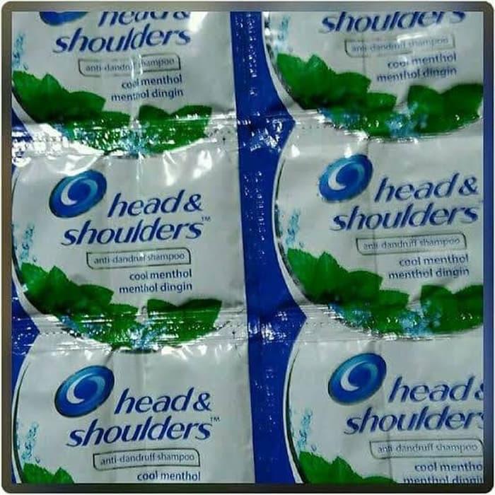 ☘️ MUMTAAZZTORE ☘️ P&G Head & Shoulders Shampo Shampoo RENCENG | 24 SACHET-1