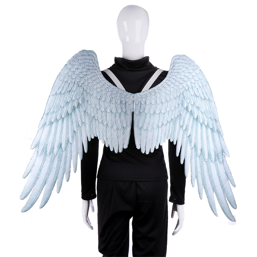 Carnival Party Cosplay Wedding Costume Props Mardi Gras Adult Unisex Angel