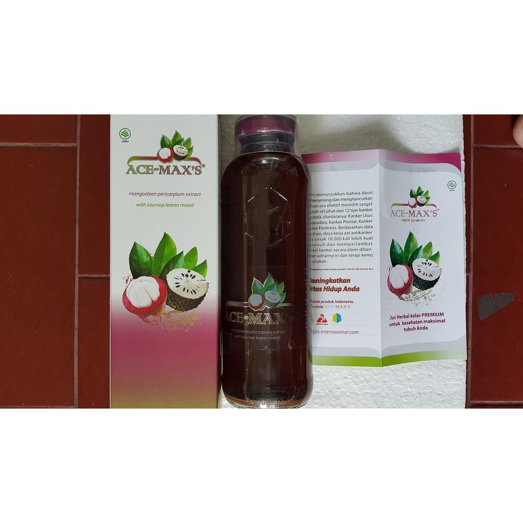 Ace Maxs Max Antioksidan Obat Herbal Kulit Manggis Dan Daun Acemax Acemaxs Esmex Esmeks Jus Sirsak Yaitu Dari Ekstrak Source Ms Extra Kanker Dll Shopee Indonesia