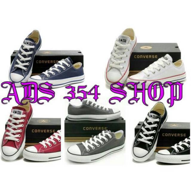 Sepatu Converse Chuck Taylor OX Specialty series (5 variant warna ... ae4c68d3ef