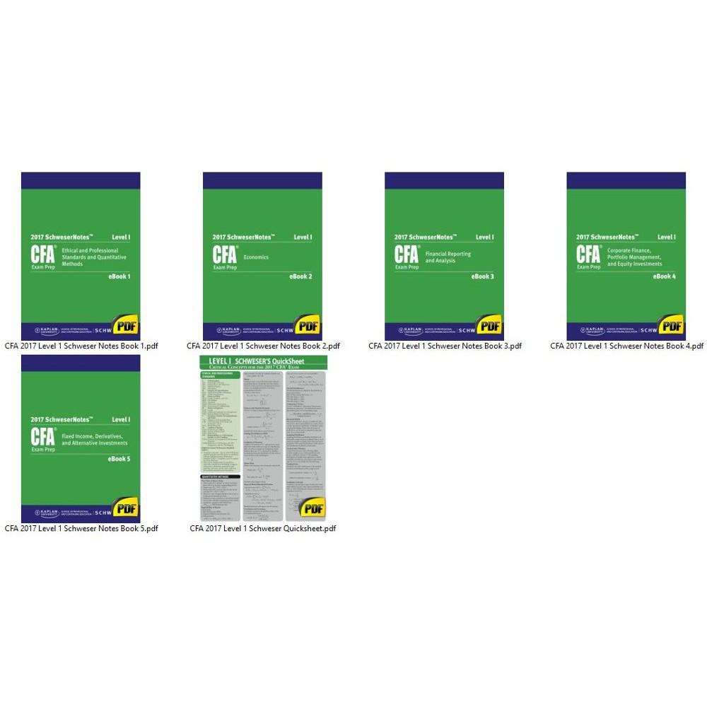 Corporate finance cfa level 1 pdf