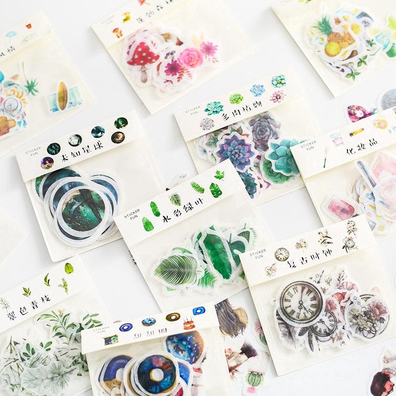 Stiker Kertas Gambar Unicorn Lucu untuk Scrapbook / Craft ...