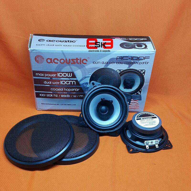 Speaker Vocal Acoustic 4inch