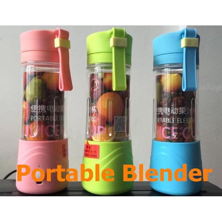 JUICER BLENDER PORTABLE USB & Rechargeable - JUICER BLENDER PRAKTIS | Shopee Indonesia