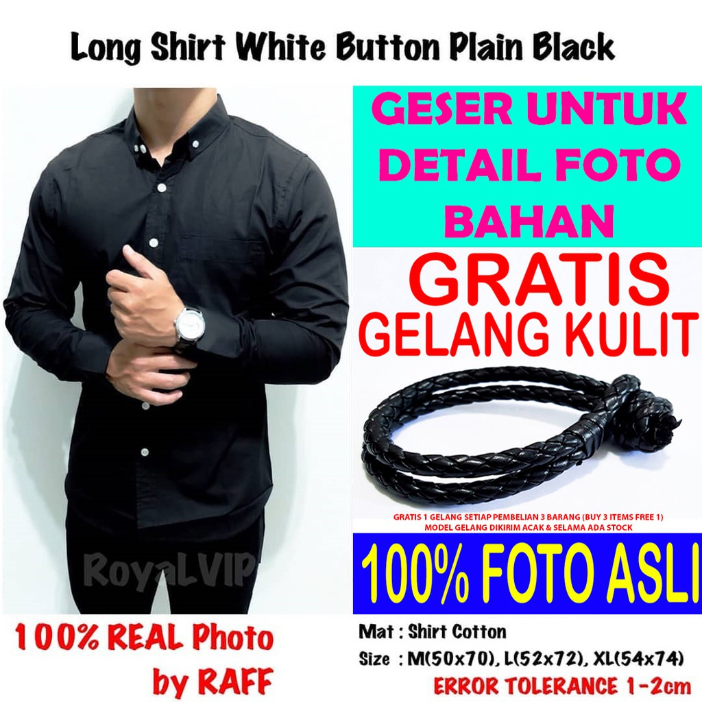 Promo Tendencies Kemeja Pendek Contrast Button Black Hitam S Terbaru Koko Nepster Shanghai Xxl Manzone Ink Rwan White Shopee Indonesia