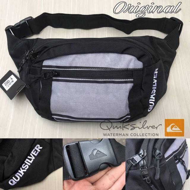 kompek tas pinggang waist bag pria quiksilver dg  d54c0a0488