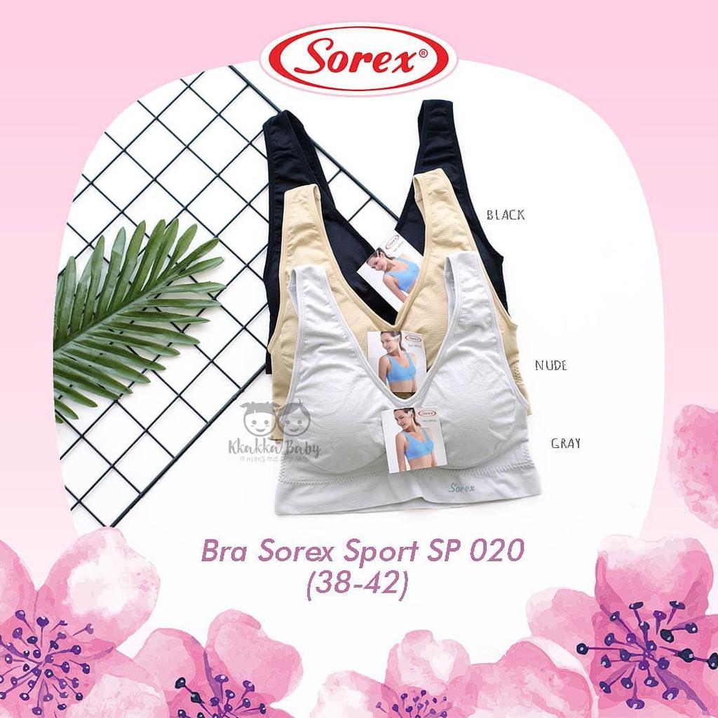 Bh Bra Sorex 4105 Sport Tanpa Busa Olah Raga Fitness Tank Top Bralette Camisol Renda Silang 8809 Senam Gym Shopee Indonesia