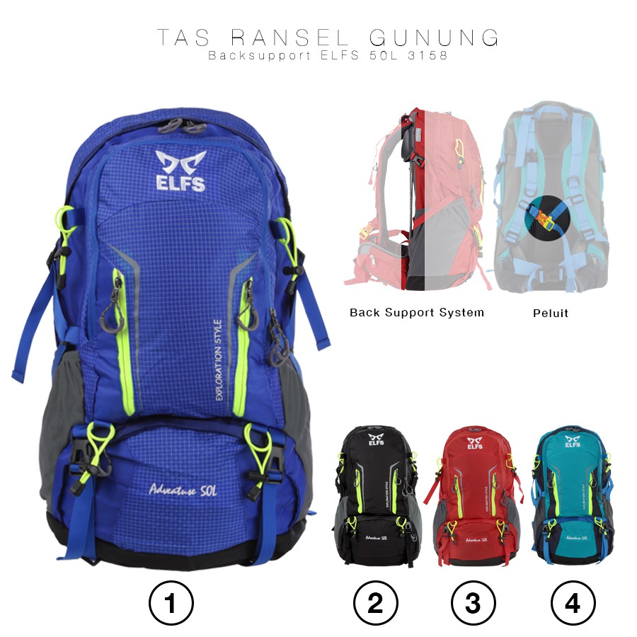 Tas Ransel Army Berbahan Canvas + Raincover / Backpack / Travel Bag / | Shopee Indonesia