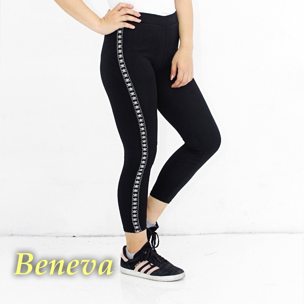 Celana Legging Wanita Celana Senam Wanita Celana Fitness Wanita Celana Legging Warna Hitam List Ads Shopee Indonesia