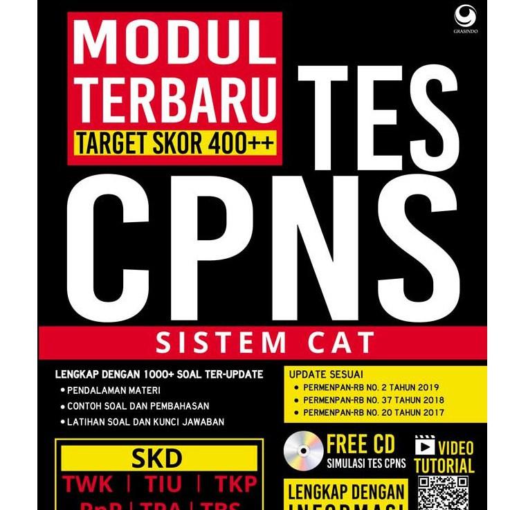Modul Terbaru Tes Cpns Sistem Cat Shopee Indonesia
