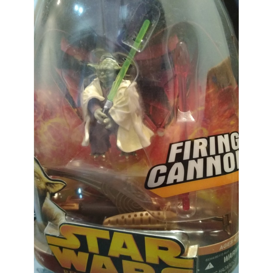 Promo Star Wars Yoda Action Figure Rare Item Episode 3 Firing Cannon Mainan Shopee Indonesia