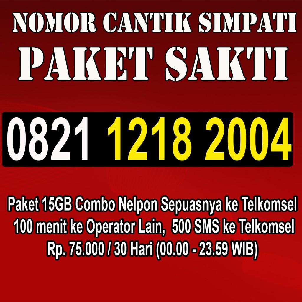 Nomor Cantik Simpati 4G Perdana Telkomsel Rapih Murah Meriah | Shopee Indonesia