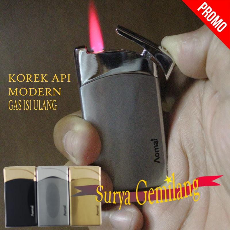 korek api pistol model kepala macan 3611 / gas isi ulang | Shopee Indonesia