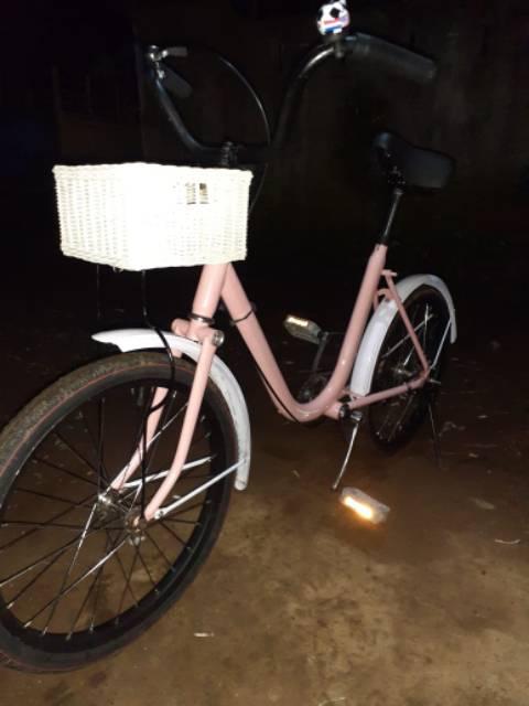 Sepeda Minion Full Sepeda Mini Kekinian Full Modif Shopee Indonesia