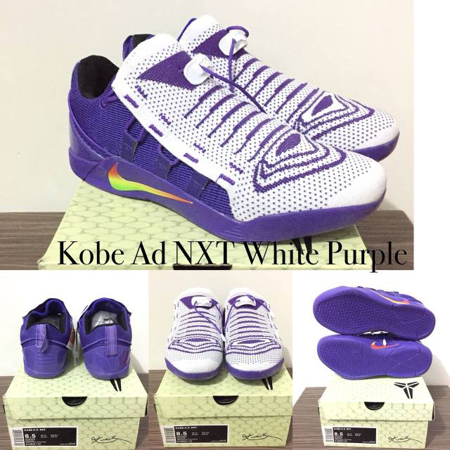 Kobe Ad Nxt White Purple Shopee Indonesia