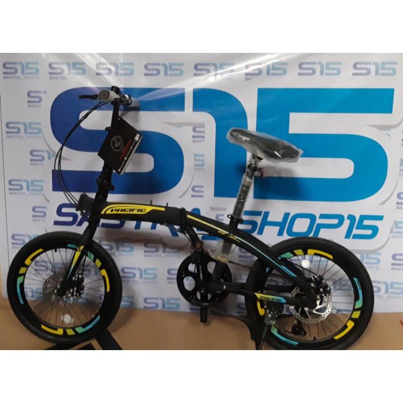 Sepeda Lipat 20 Pacific 2980 Rx 6 0 Vt Disc Shopee Indonesia