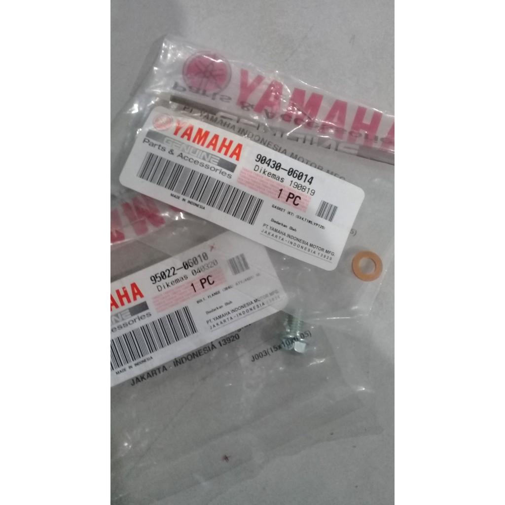 BAUT DAN RING TEMBAGA TAPAIR RADIATOR ORIGINAL YAMAHA VIXION,R15,JUPMX, NMAX/90340-06014,95022-06010
