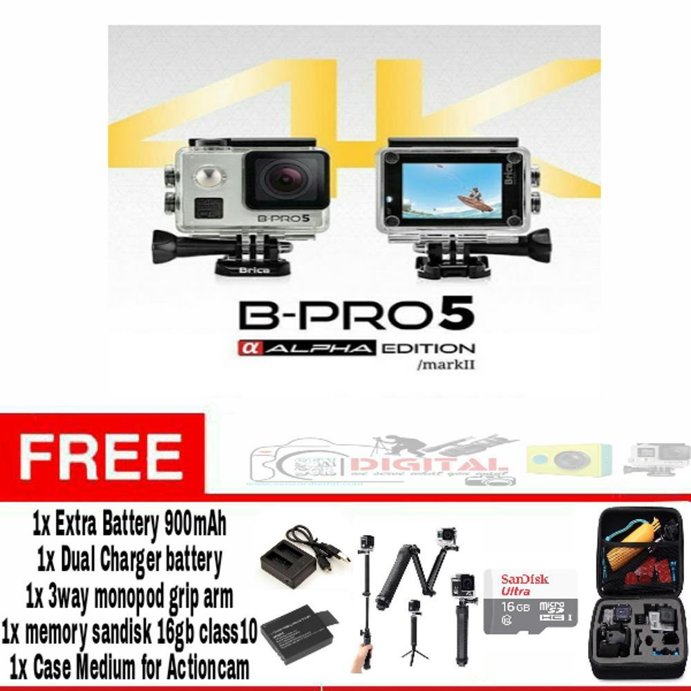 Dijual Brica B Pro5 Alpha Edition Mark Iis 4k Bonus 16gb Ae2s Pro 5 2 Ae2 Combo 3 Way Berrisom Hitam Murah Shopee Indonesia